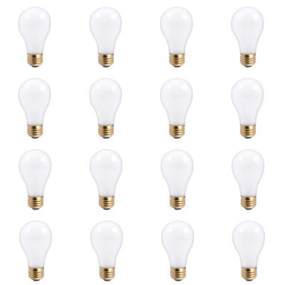 30/70/100-Watt A19 Frost Dimmable Light Incandescent 3-Way Light Bulb Warm White (12-Pack)