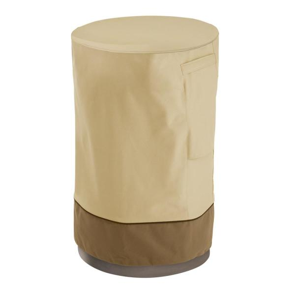 Veranda Fire Column Cover-Durable and Water Resistant Outdoor Cover