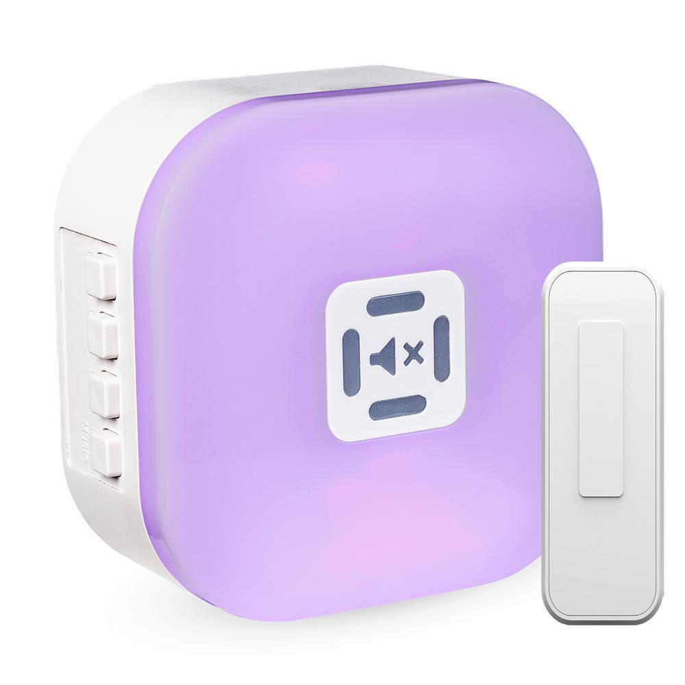 Hampton Bay Wireless Illuminated Plug-In Door Bell Kit