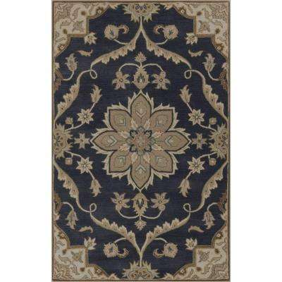 Ferdinand Navy 12 ft. x 15 ft. Indoor Area Rug