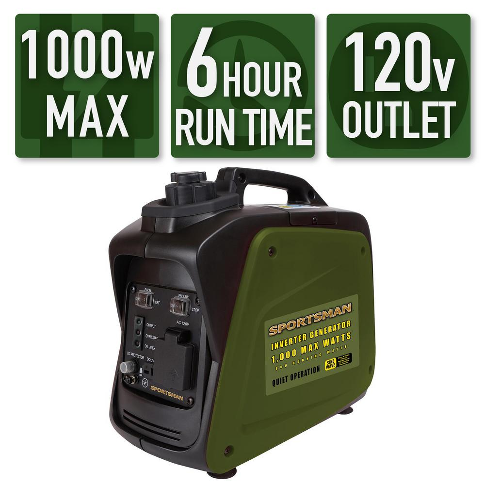 Sportsman 2,200/1,800-Watt Gasoline Powered Recoil Start Portable Digital  Inverter Generator with Parallel Capability