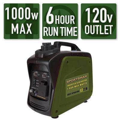 1,000/800-Watt Gasoline Powered Digital Inverter Generator
