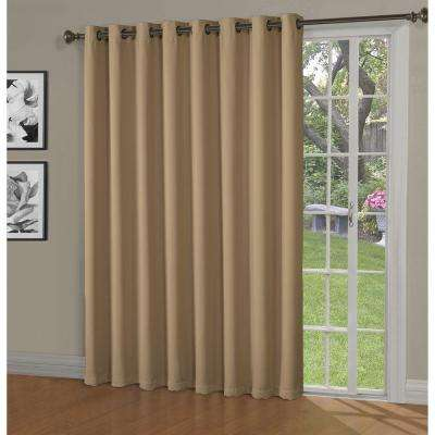 Blackout french door curtains