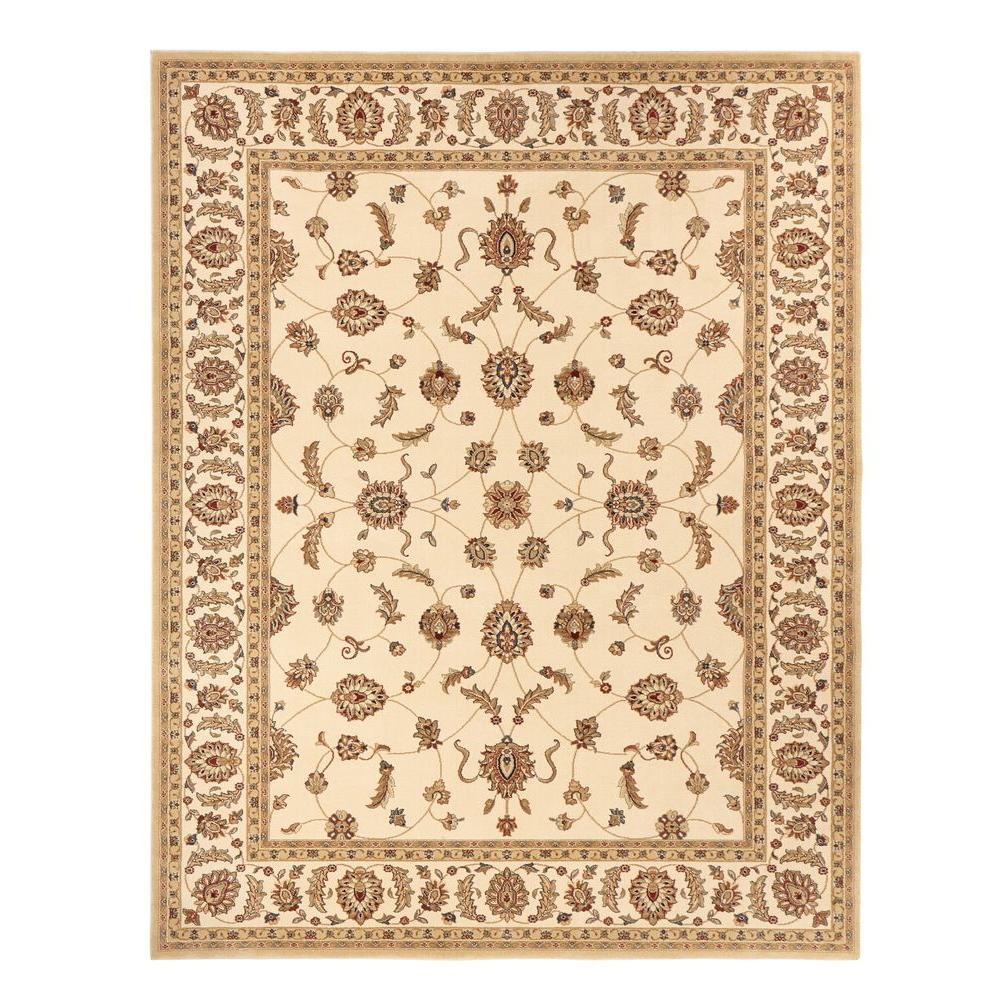 Home Decorators Collection. Claire Cream 8 Ft. X 10 Ft. Area Rug