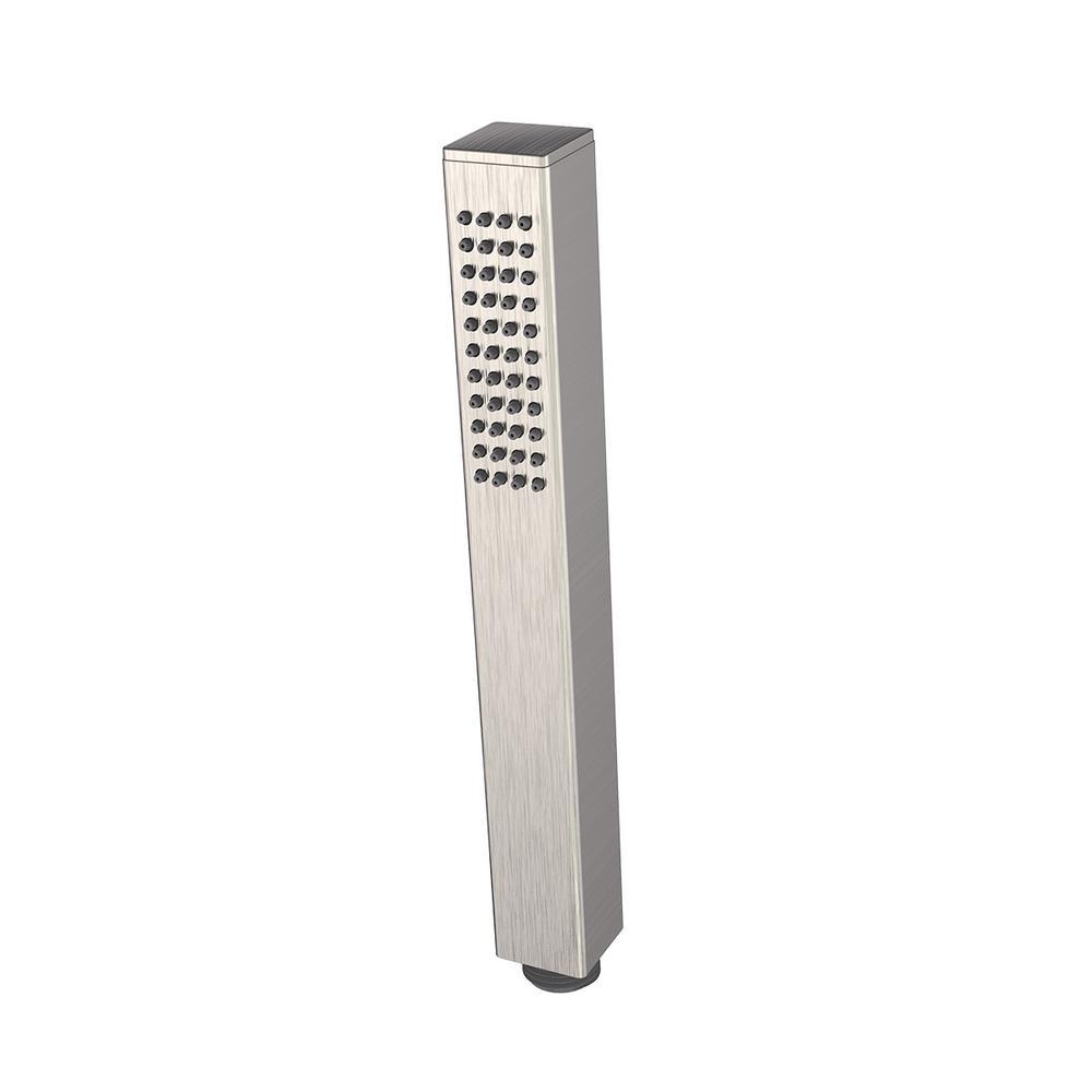 Speakman Kubos 1-Spray 1 in. Hand Shower Wand in Brushed Nickel