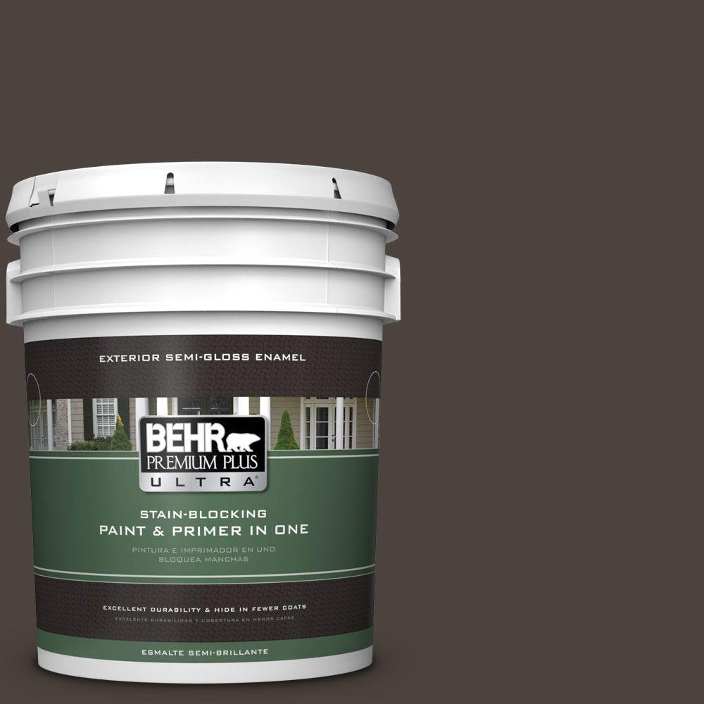 5-gal. #ECC-41-2 Willow Wood Semi-Gloss Enamel Exterior Paint