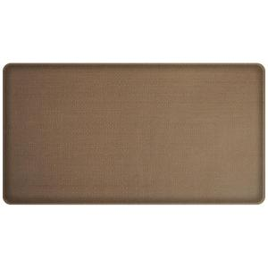 Classic Rattan Honey Brown 20 In. X 36 In. Comfort Kitchen Mat · GelPro ...