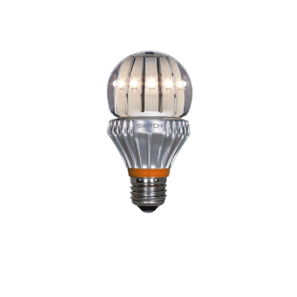 SWITCH 60W Equivalent Soft White  A19 Clear LED Light Bulb