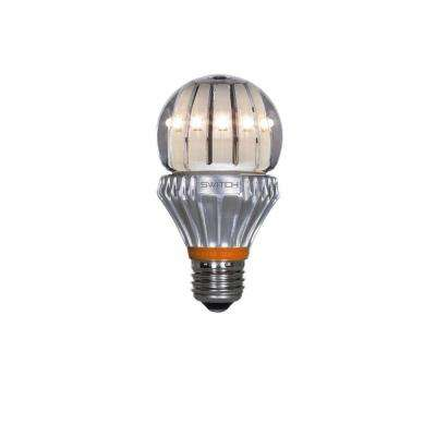 60W Equivalent Soft White  A19 Clear LED Light Bulb