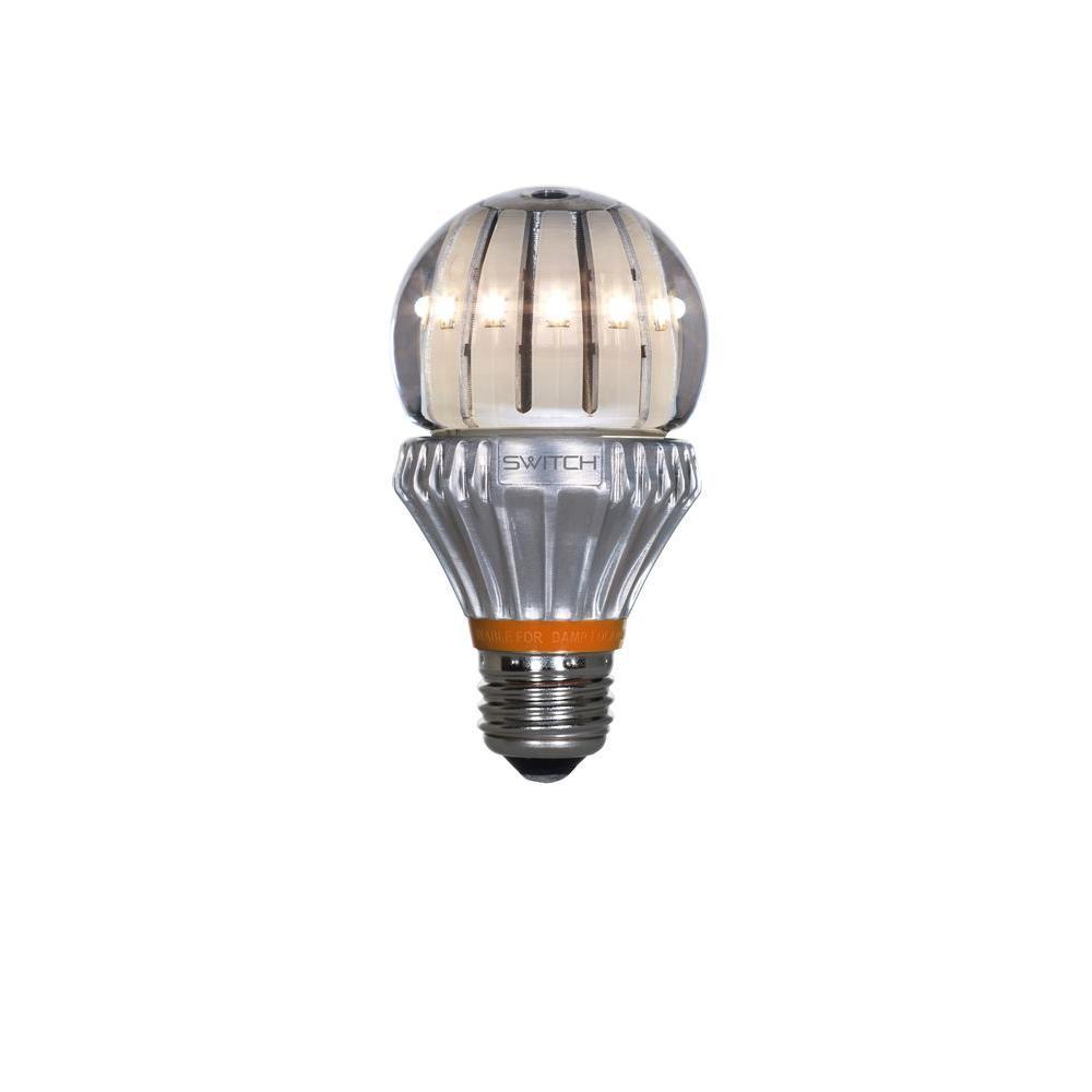 60W Equivalent Soft White  A19 Clear LED Light Bulb