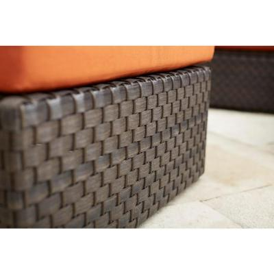 Moreno Valley Cushioned Patio Coffee Table