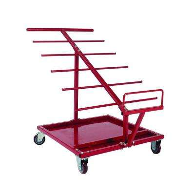 Electrical Extra-Capacity Cable and Wire Service Tool Cart