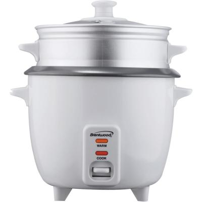 5-Cup White Rice Cooker with Food Steamer