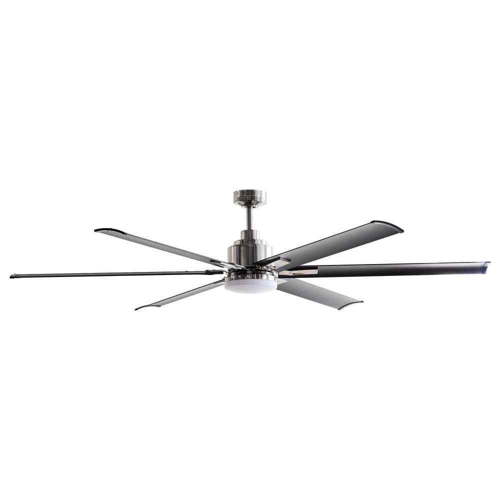 New Parrot Uncle 72 in. Integrated LED Brushed Chrome Ceiling - Sale: $315.00 USD (20% off)