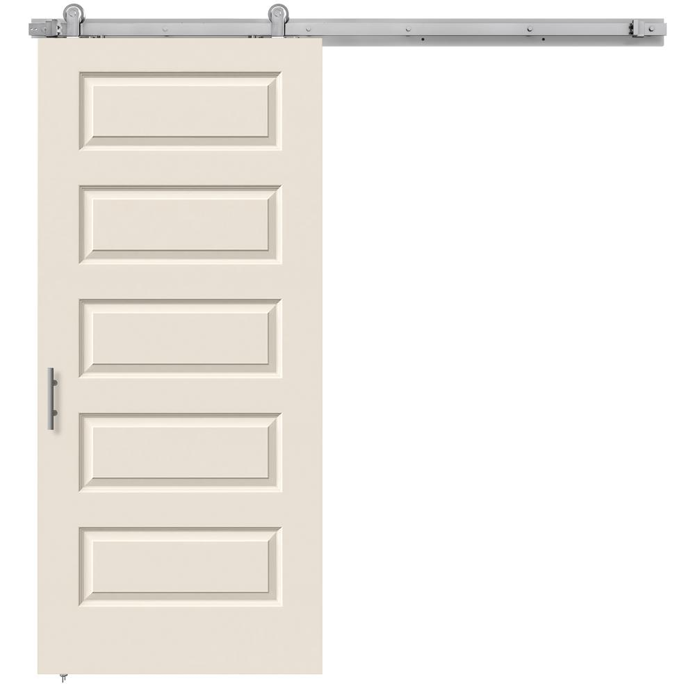 36 in. x 84 in. Rockport Primed Smooth Molded Composite MDF