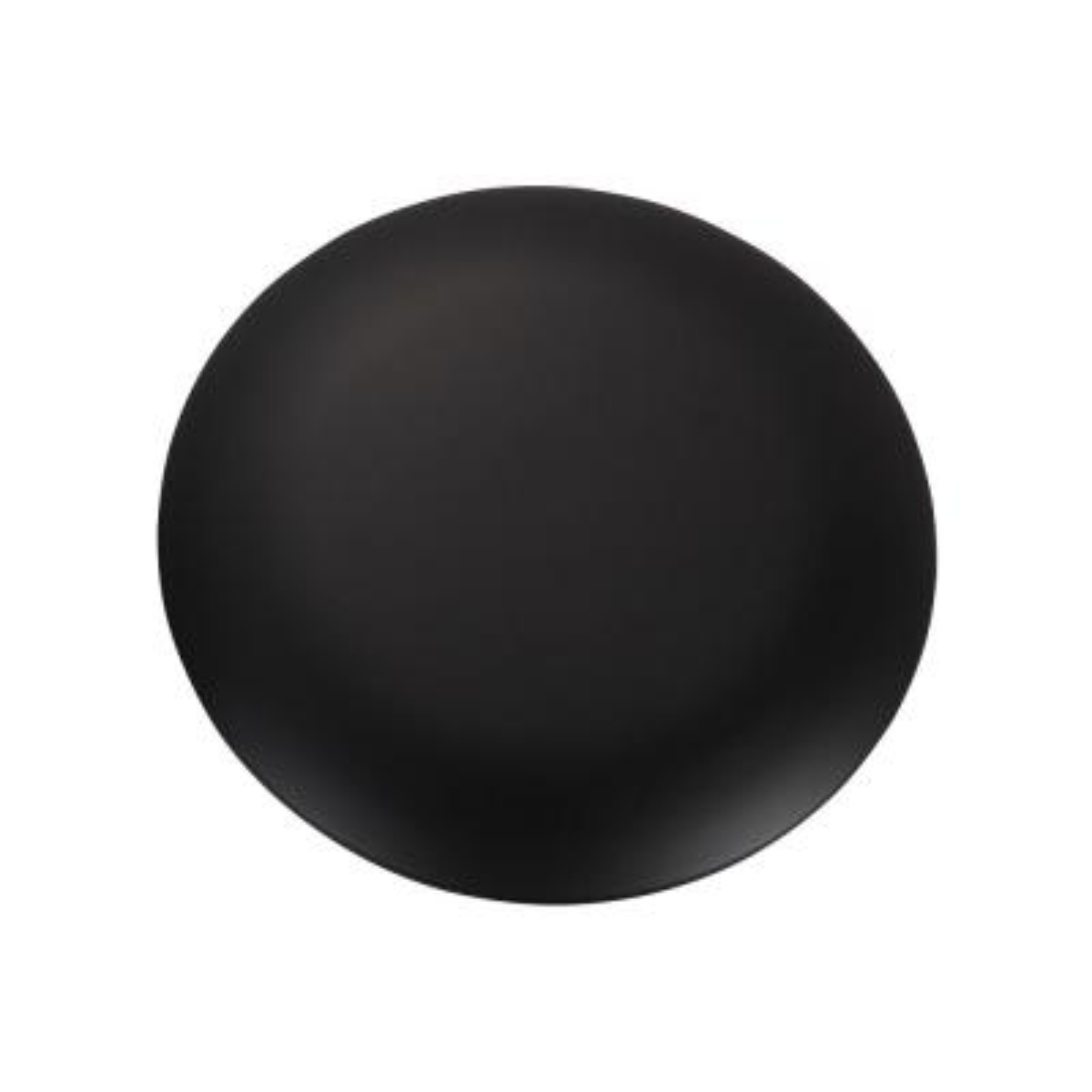 Minimalist Black Blanking Plate