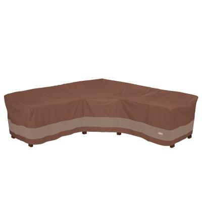 Ultimate 102 in. L x 35.5 in. W x 31 in. H V-Shape Sectional Lounge Set Cover