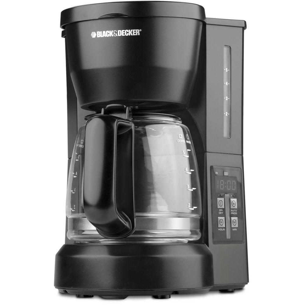 BLACK+DECKER 5-Cup Programmable Drip Coffee Maker-DISCONTINUED