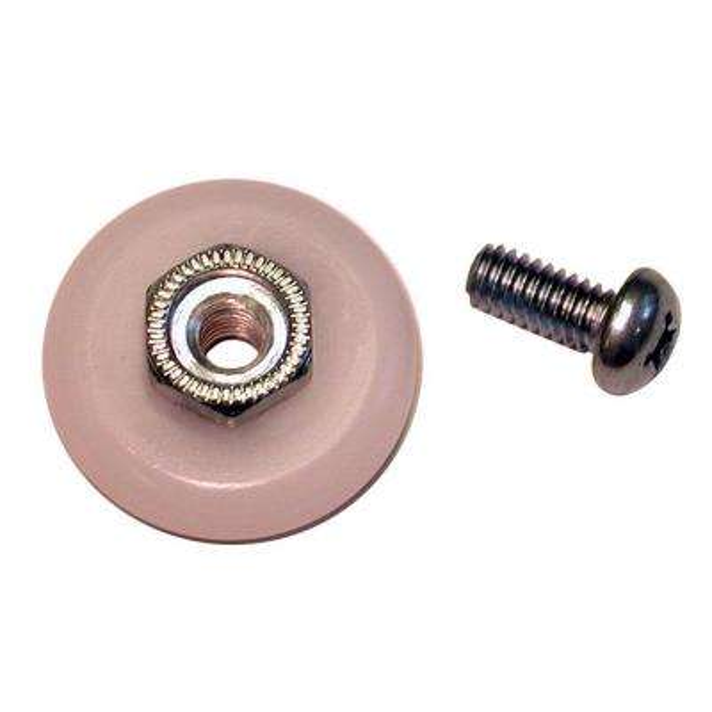 7/8 in. Oval Shower Door Roller
