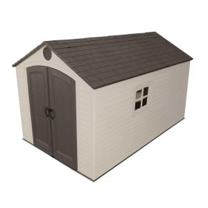 Lifetime 8 ft. x 12.5 ft. Outdoor Storage Shed by Lifetime