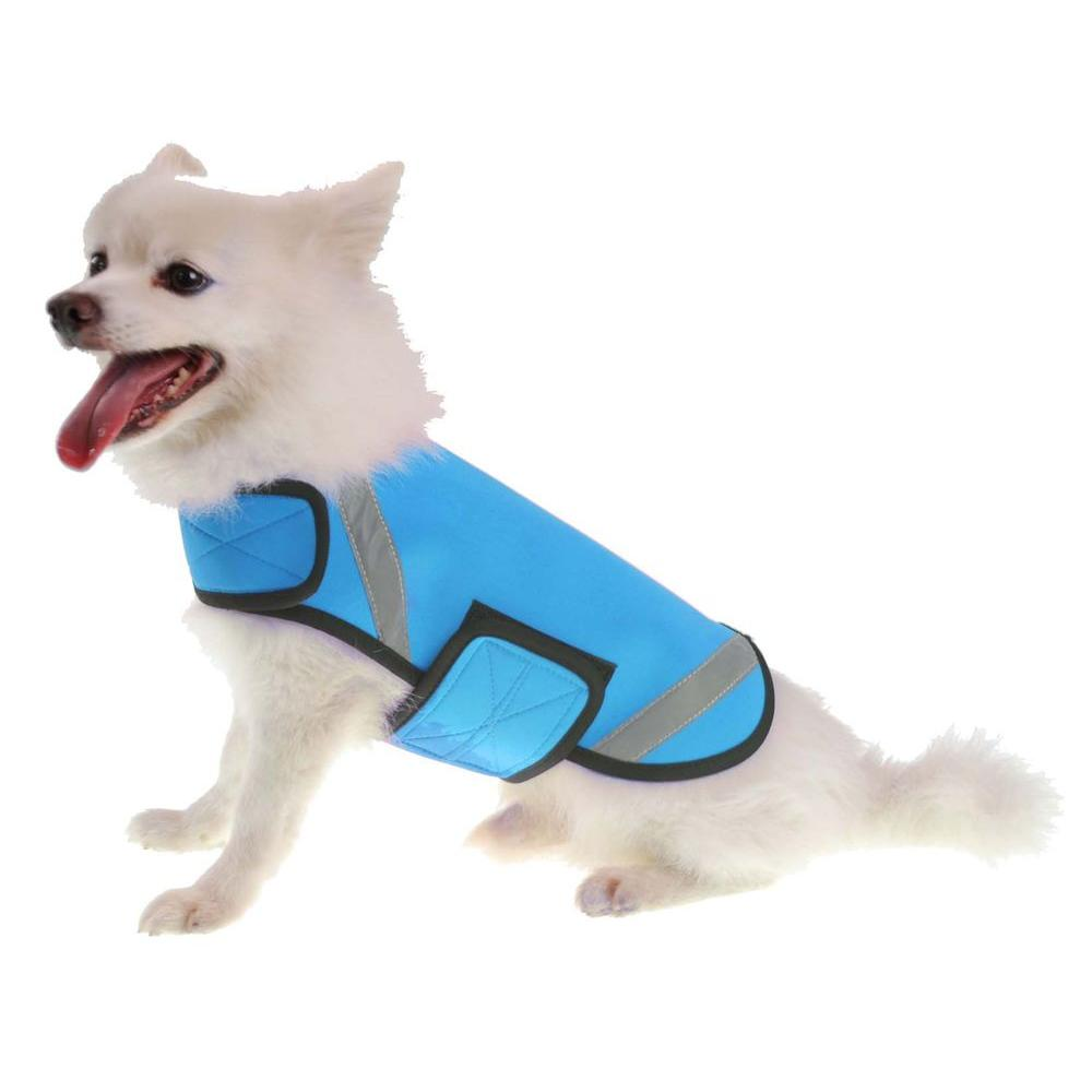 Large Blue Extreme Neoprene Multi-Purpose Protective Shell Dog Coat