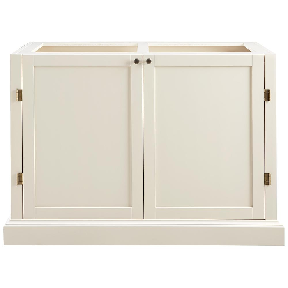 Prescott Polar White Modular 6 Shelf Pantry Base