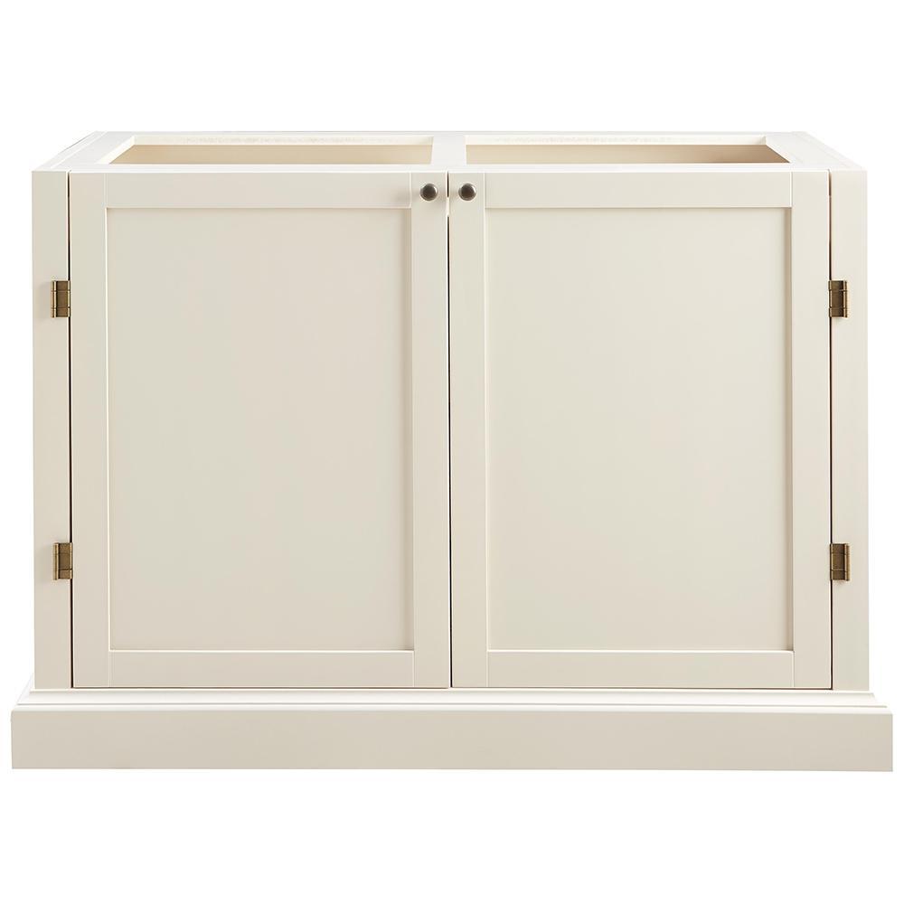 Prescott Polar White Modular 6 Shelf Pantry Base