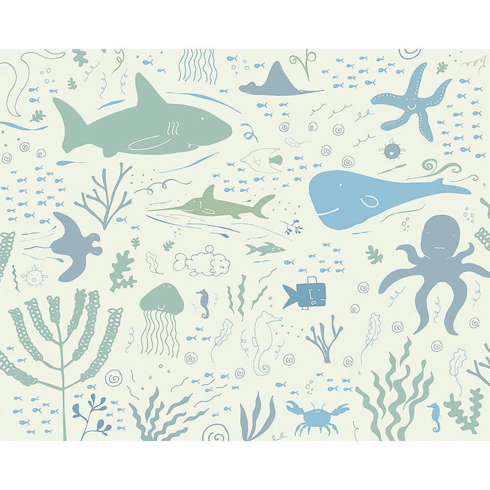 Underwater Adventures Wall Mural