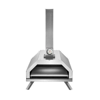 Pyre-Go Wood Burning Outdoor Pizza Oven in Stainless-Steel