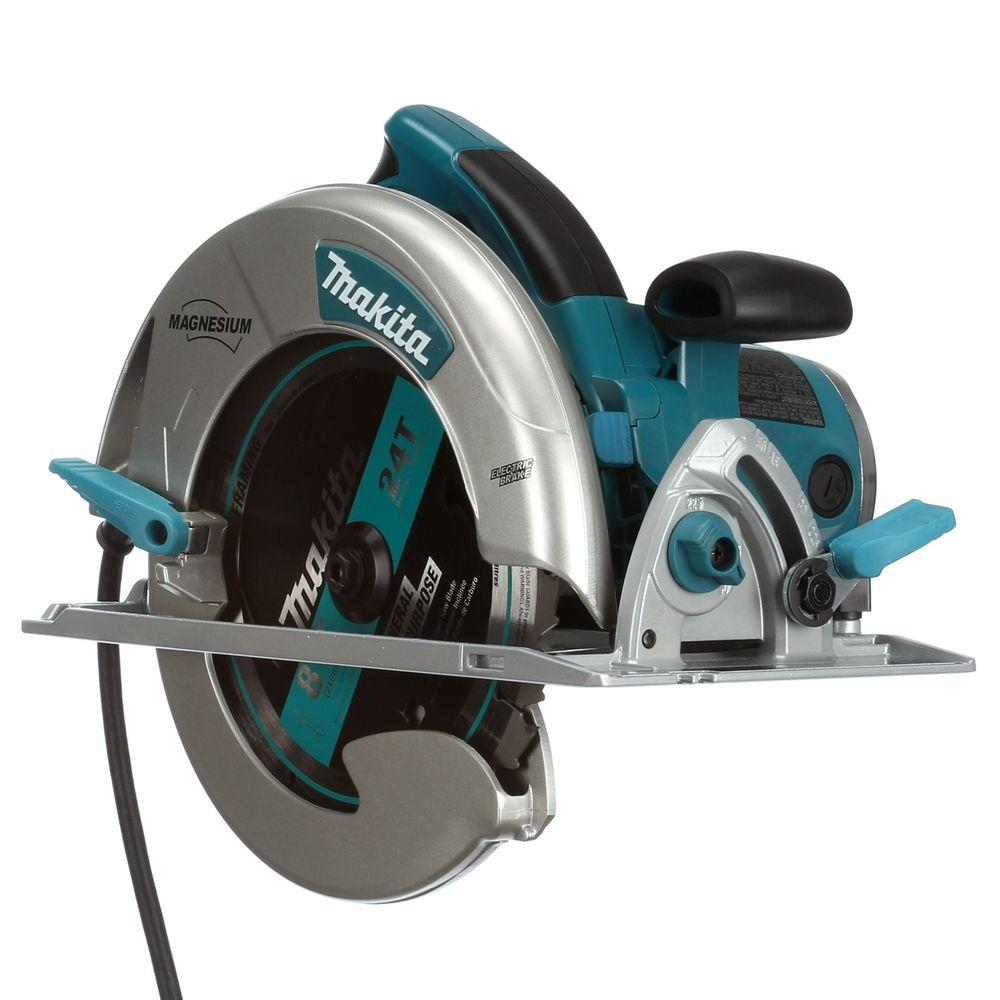Makita 15 amp 8 14 in magnesium circular saw 5008mga the home depot makita 15 amp 8 14 in magnesium circular saw greentooth Images