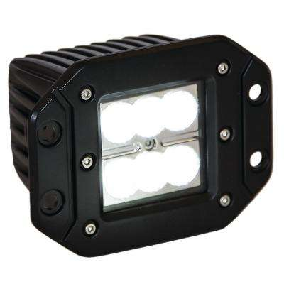 2.875 in. Square LED Clear Recessed Flood Light