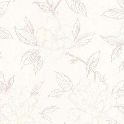 Floral wallpaper decor the home depot bloom wallpaper bloom wallpaper mightylinksfo