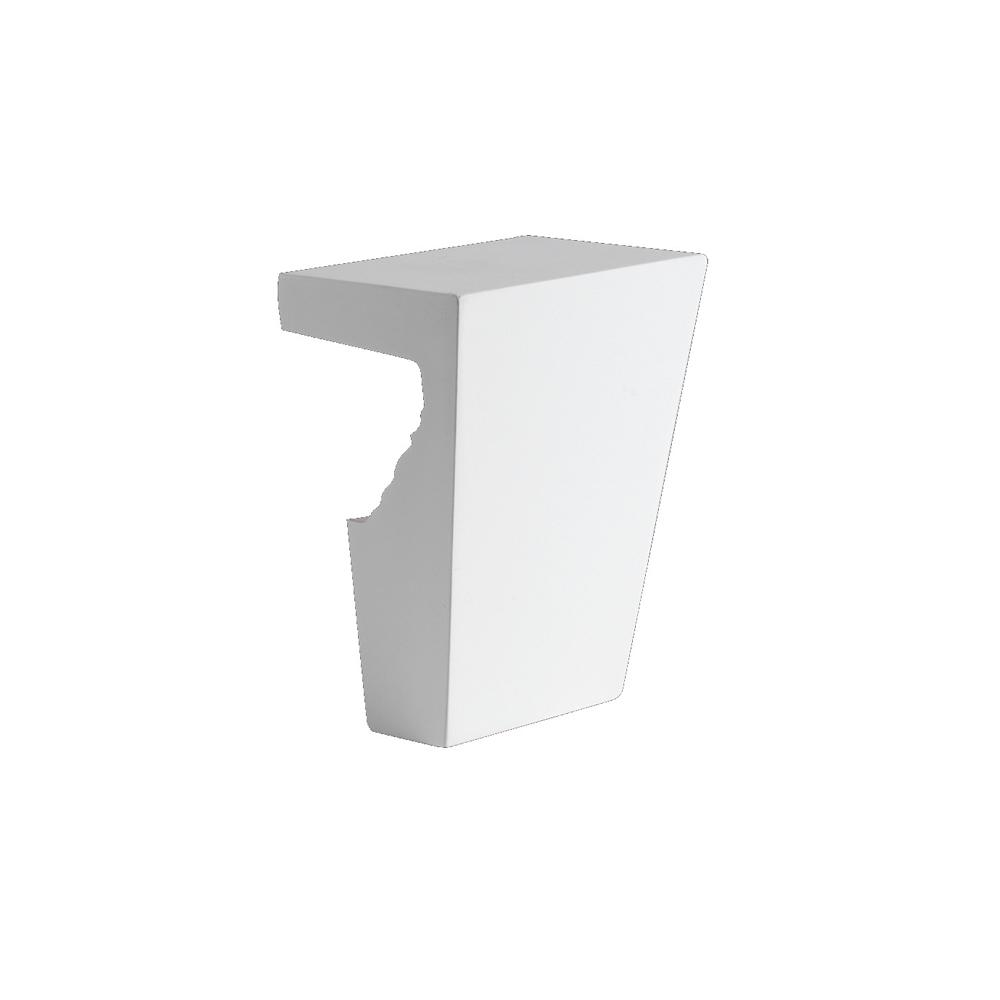 Fypon 8 in. x 11 in. Polyurethane Keystone Fits 9 in. and 10 in. Window and Door Crossheads