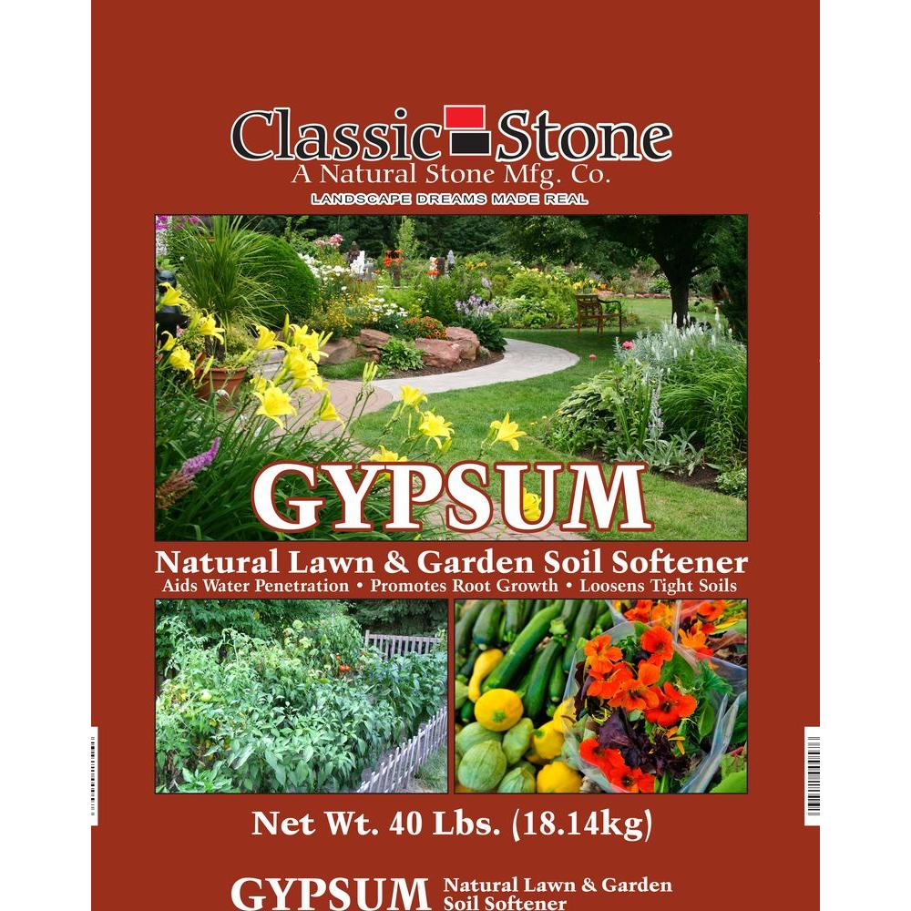 gypsum lawn and garden soil softener - Garden Gypsum