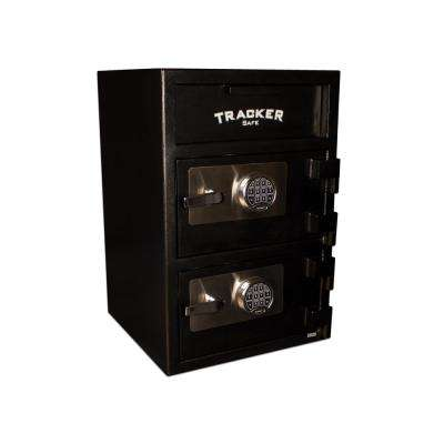 6.94 cu. ft. Steel Deposit Safe Electronic Lock Black