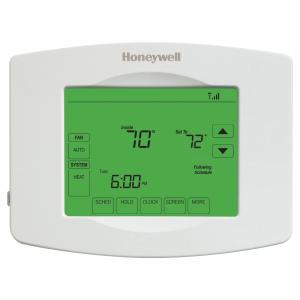 Honeywell Wi-Fi Programmable Touchscreen Thermostat + Free App-RTH8580WF -  The Home Depot