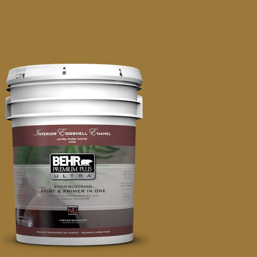 BEHR Premium Plus Ultra 5-gal. #M300-7 Persian Gold Eggshell Enamel Interior Paint