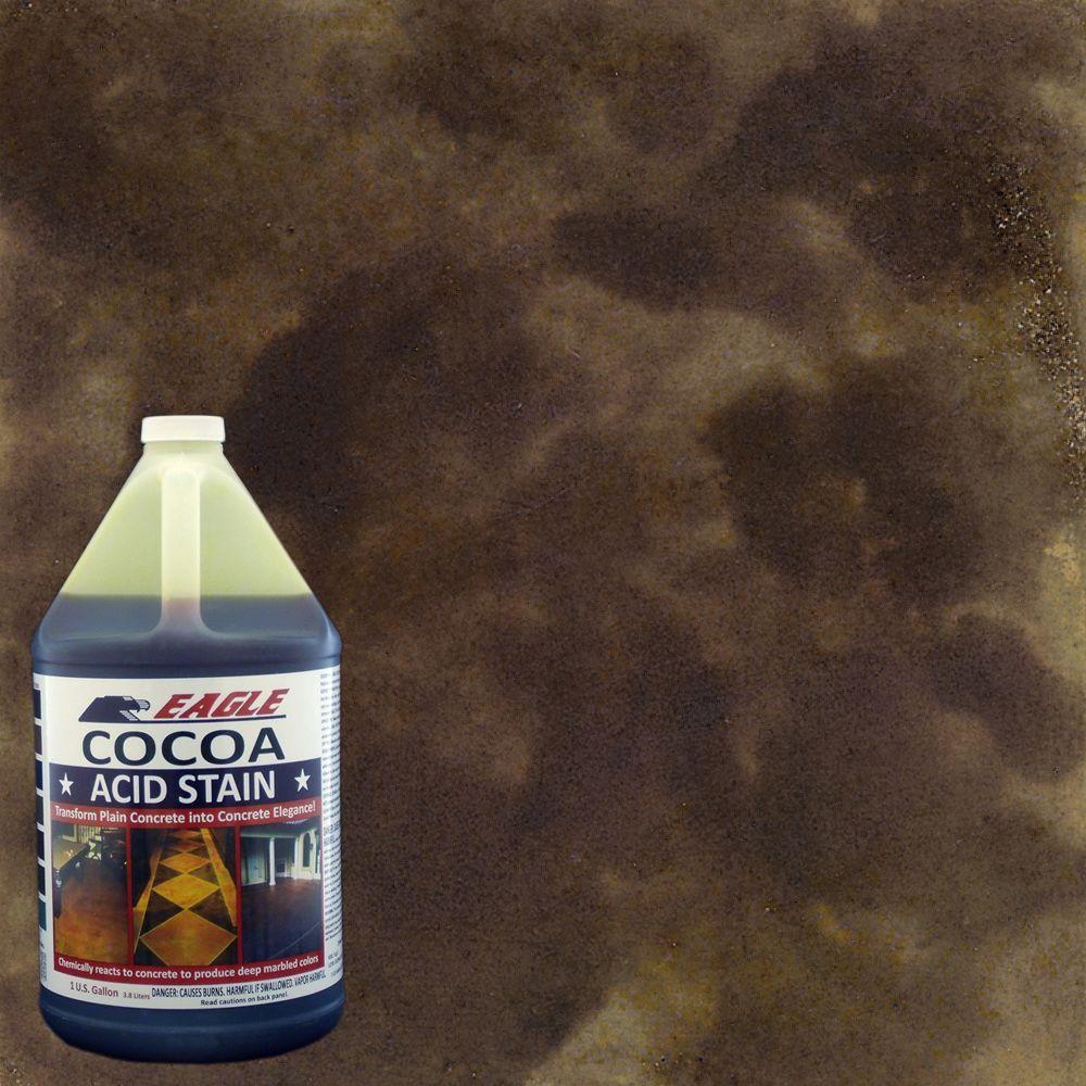 Eagle 1 gal. Cocoa Concrete Acid Stain