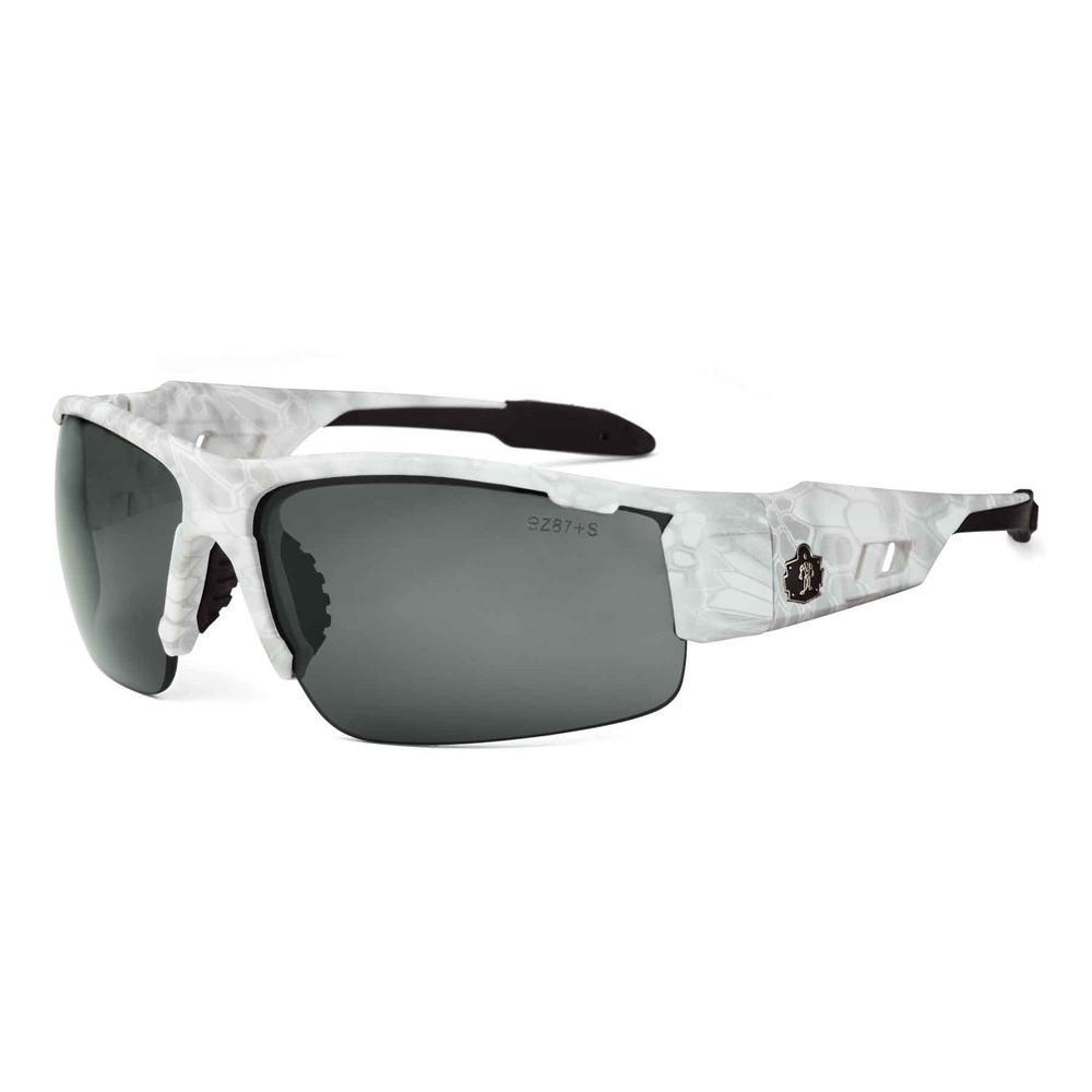 Skullerz Dagr Kryptek Yeti Anti-Fog Safety Glasses, Tinted Lens - ANSI Certified