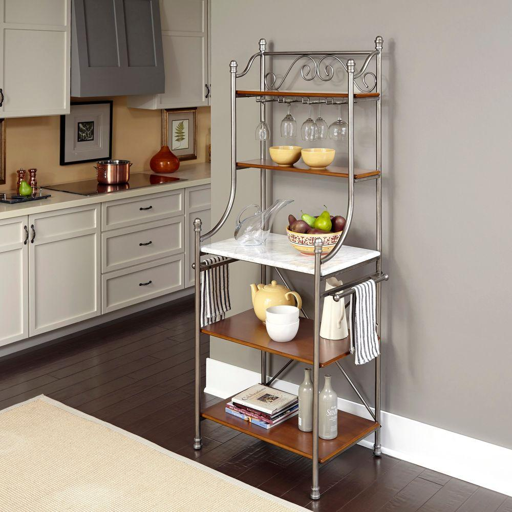 Captivating The Orleans Vintage Caramel Bakeru0027s Rack