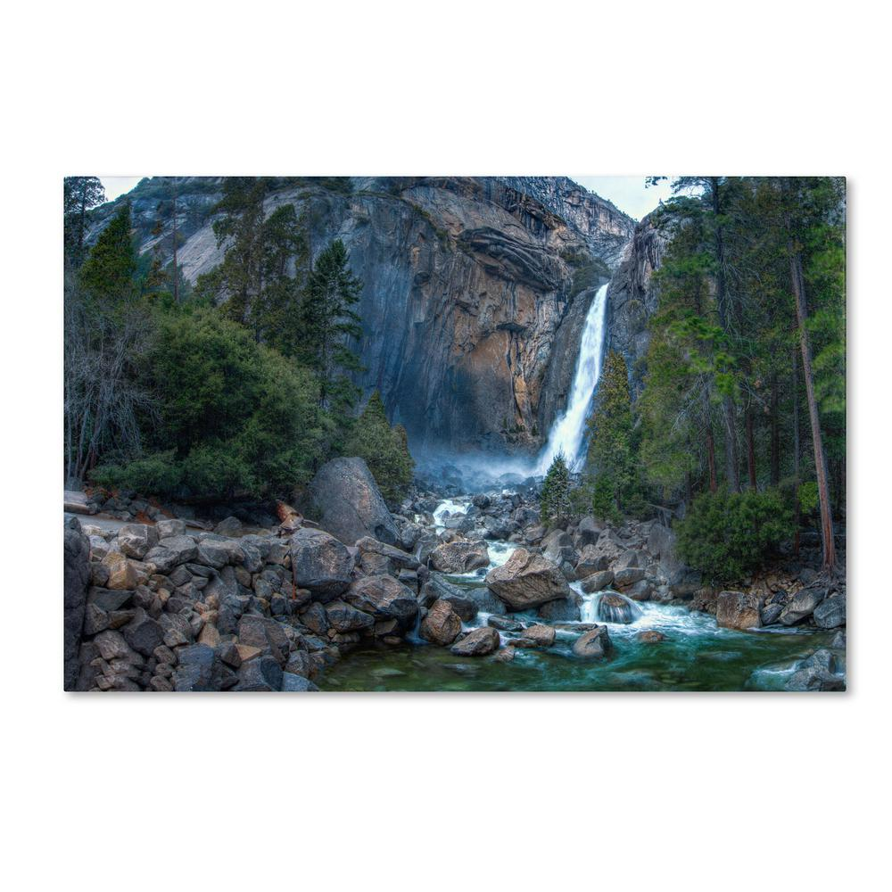 Trademark Fine Art Yosemite National Park California Iv By David Ayash Floater Frame Nature Wall Art 12 In X 19 In Ma0503 C1219gg The Home Depot
