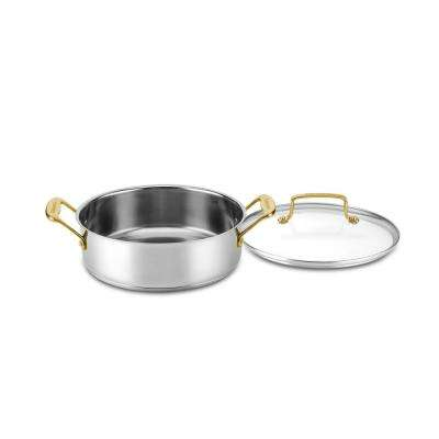 Minerals 3-1/2 Qt. Stainless Steel Casserole with Cover
