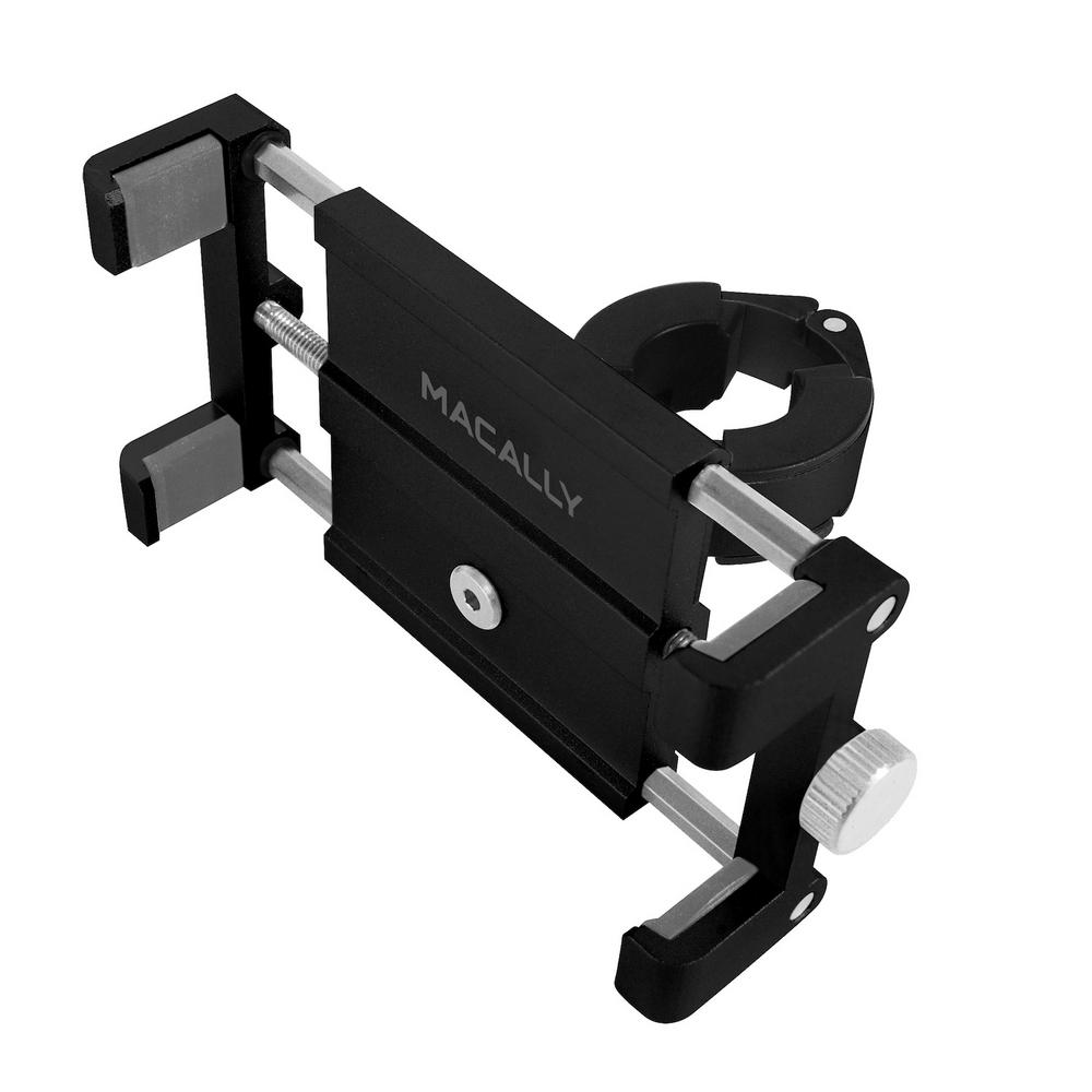 Iphone Bike Mount >> Macally Aluminum Bike Phone Mount Bicycle Holder On Handlebar For