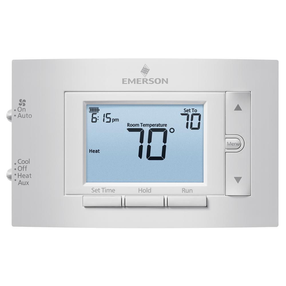 Emerson Digital Thermostat Manual Further Heat Pump
