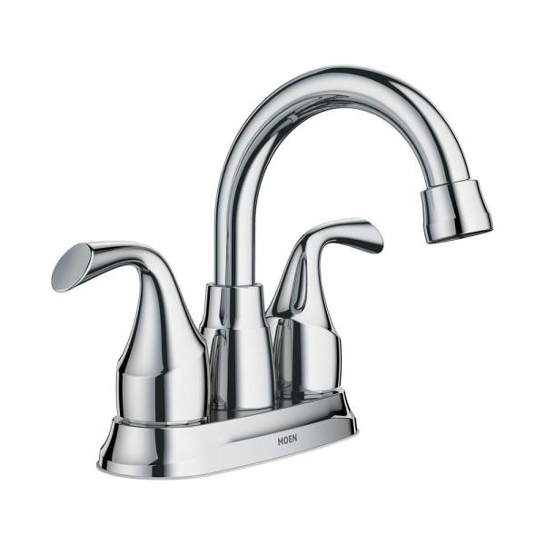 Idora 4 in. Centerset 2-Handle Bathroom Faucet in Chrome