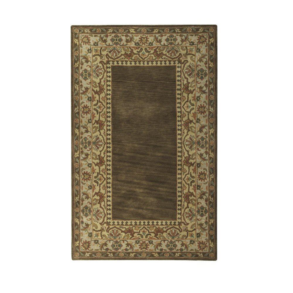 Home Decorators Collection Toulon Coffee 9 ft. 6 in. x 13 ft. 6 in. Area Rug