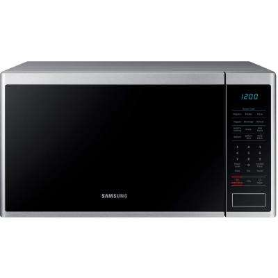 1.4 cu. ft. Countertop Microwave with Sensor Cook in Stainless Steel