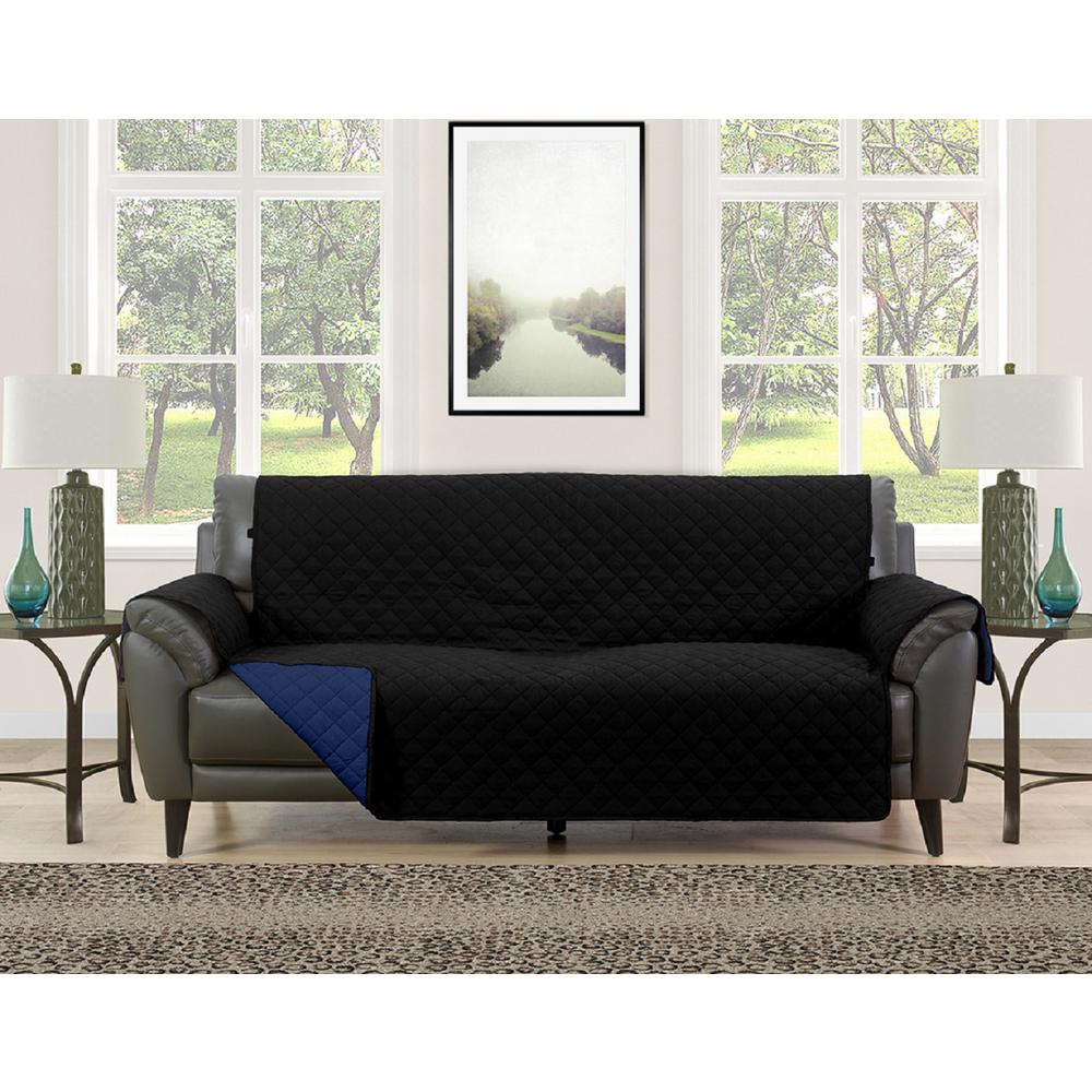 Awe Inspiring Barrett Brown Cream Microfiber Reversible Couch Protector Ocoug Best Dining Table And Chair Ideas Images Ocougorg