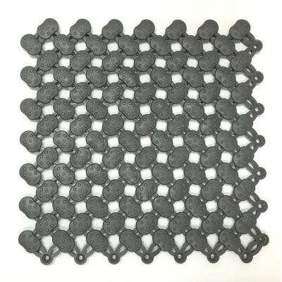 Graphite 8 in. x 8 in. Soft Vinyl Commercial or Residential Floor Tile (11 sq. ft. / case)