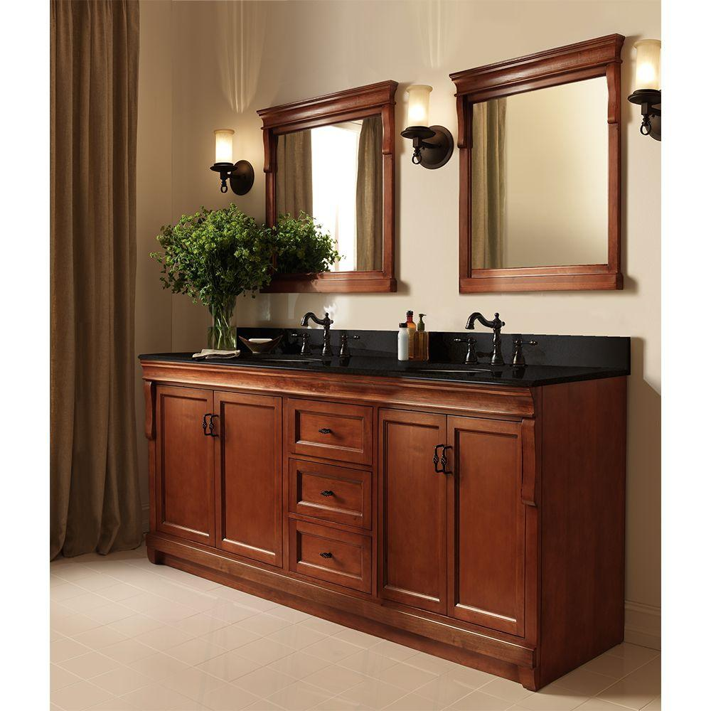 Home Decorators Collection Naples 24 In X 32 In Wall Mirror In Warm Cinnamon